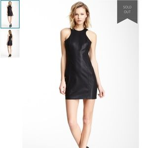 BB Dakota Dresses - NWT BB Dakota Vegan Leather Dress